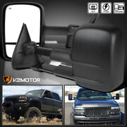 For 1999-2002 Chevy Silverado/sierra Power+heated Tow Side Mirrors Left+right