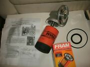 Triumph Tr6 Oil Filter Conversion Kit / Adaptor Kit W Filterconvert To Spin On