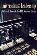 Universities And Their Leadership By William G. Bowen English Paperback Book F