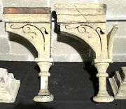 Set 4 Spectacular Antique Corbels 29 Tall Architectural Salvage