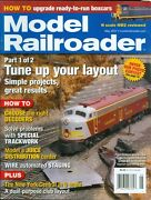 2007 Model Railroader Magazine Tune Up Your Layout/new York Central O Scale