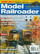 2007 Model Railroader Magazine Autumn On The Allegheny Central/roll-out Layout