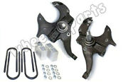 2/3 Drop Spindles And Blocks 2 Front 3 Rear Lowering Suspension Kit For S10 2wd