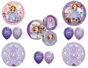 Sofia The First Lilac Tapestry Birthday Party Balloons Decoration Supplies 1st