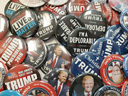 Trump Huge Blowout Collection Of 2016 Republican Buttons Lot Of 100 Free Ship
