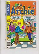Archie 271 Vf- June 1978 - Infamous Pearl Necklace Cover - High Grade Comic