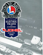 Lionel Electric Trains And Accessories 1990 Book One 0 027 Gauge Ex 071016jhe2