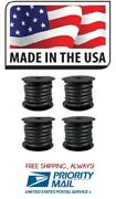 4 Rolls 3/8 X 25and039 Fuel Line Gas Hose E-85 Bio-diesel Thermoid Made In Usa 24088