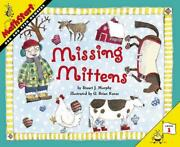 Missing Mittens Level One Odd And Even Numbers By Stuart J. Murphy English P