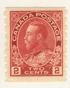 Canada Stamp Scott 127 2-cents Admiral Coil Mh