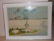 Priced To Sell Doug Webb Framed Litho Liberty Renewed Including Twin Towers