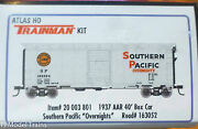 Atlas Ho 20003801 Rd 163052 Southern Pacific Trainman 1937 Aar 40and039 Boxcar