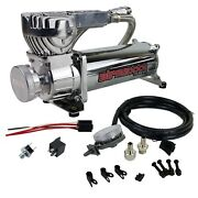 Chrome 580 Air Compressor For Bag Suspension 180psi Off Pressure Switch And Filter