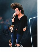 The 1975 Matt Healy Signed Rocking Out 8x10