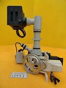 Nikon Microscope Turret With Light Source Assembly Optistation 3 Used Working