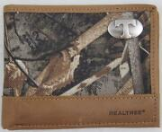 Zep Pro Tennessee Volunteers Realtree Max 5 Camo Wallet Bifold Tin Gift Box