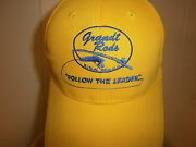 Grandt Fishing Rods Hat Baseball Cap Nwot Embroidered Follow Leader Pole Gear