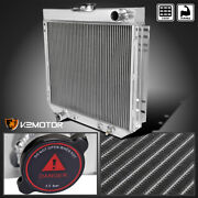 Fit 1969-1970 Ford Mustang Falcon 3 Core Row 20 Driver Side Aluminum Radiator L