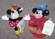 1999 Steiff Mickey And Minnie Mouse Sorcerers Apprentice