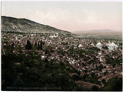 C.1890and039s Photochrome Turkey Brousse View From Military School