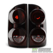 Red Smoke 2007-2008 Dodge Ram 1500 07-09 2500 3500 Tail Lights Lamps Left+right