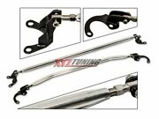 90-01 Acura Integra Front And Rear Upper Top Strut Tower Bars Brace 2 Pieces Combo