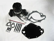 Small Block Ford Electric Water Pump High Volume Black 351c Sbf With Plate