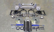 1933 1934 Ford Mustang Ii 2 Complete Front End Hub To Hub Ifs Kit Crossmember ++