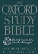 Oxford Study Bible-reb Revised English Bible With Apocrypha By Jack Suggs Engl