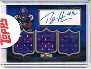 2010 Topps Triple Threads Percy Harvin Auto Relic 16/18