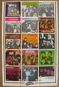 The Beatles Collectable Record British Import Series 7 1982 Us Promo Poster