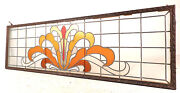 Large Vintage Stained Glass Window 1512nj