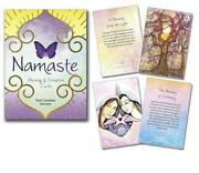 Namaste Blessing And Divination Cards By Toni Carmine Salerno English Free Shipp