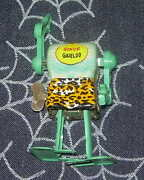 Marx Son Of Garloo Tin Litho Wind Up Robot 1960and039s Works No Head Japan