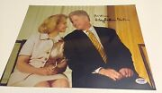 Bill And Hillary Clinton Signed 11x14 Photo Psa/dna Coa - Dual By Both