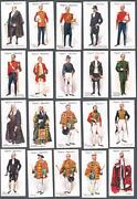 1911 John Players And Sons Ceremonial And Court Dress Tobacco Cards Complete Set