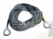 Warn Winch Atv Synthetic Rope Extension 4000lbs 50and039 X 1/4
