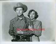 Roy Rogers Eyes Of Tears 8x10 Photo From Original Negative L7364