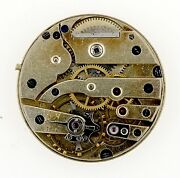 Swiss Lever Wristwatch Movement Spares Or Repairs Q110