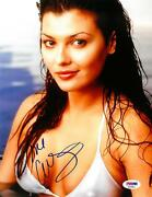 Ali Landry Signed Sexy Authentic Autographed 8.5x11 Photo Psa/dna Ac55853