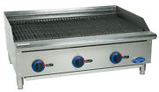 Globe C36cb-sr 36 Chefmate Counter-top Gas Charbroiler - Natural Gas