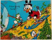 Alan Young Signed 11x14 Photo 6 Voice Of Scrooge Mcduck Auto W/ Beckett Bas Coa