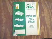 1974 Filko Foreign Car Parts Catalog Fc-74 Ignition Carb Kits Switches 64 Pages