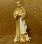 Foundations 4044083 St. Francis By Karen Hahn Enesco Nib From Retail Store 9+