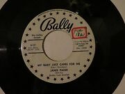 Janis Paige - My Baby Just Cares For Me / I Hadnt Anyone Till You Bally 12008