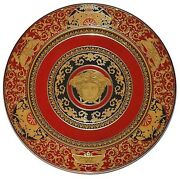 Rosenthal Versace Medusa Red 8 Pieces Service Plate Charger 12 30cm