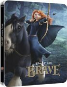 Brave 3d Limited Edition Steelbook [br3d + Blu-ray Region Free 2-disc] New