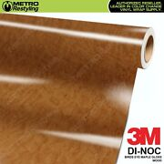 3m Di-noc Birds Eye Maple Gloss Wood Grain Vinyl Wrap Sheet Film Sticker Roll