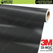 3m Di-noc Graphite Carbon Fiber Vinyl Sheet Flex Wrap Film Roll Adhesive Ca-420