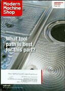 2016 Modern Machine Shop Magazine What Tool Path Is Best For This Part/amerimold